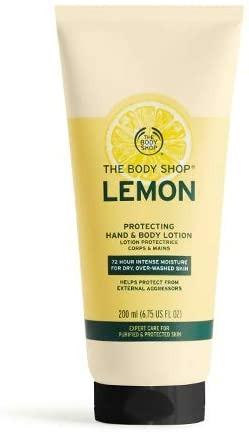 THE BODY SHOP ザボディショップ プロテクティング ハンド&ボディローション レモン 200ml