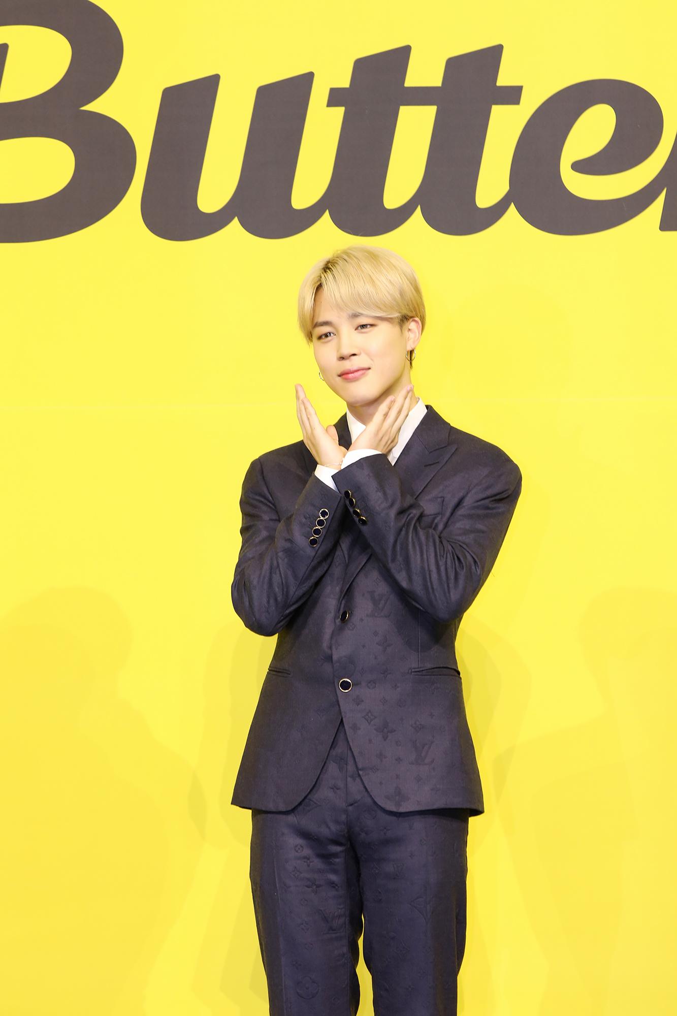 BTS Butter JIMIN オンライン記者会見