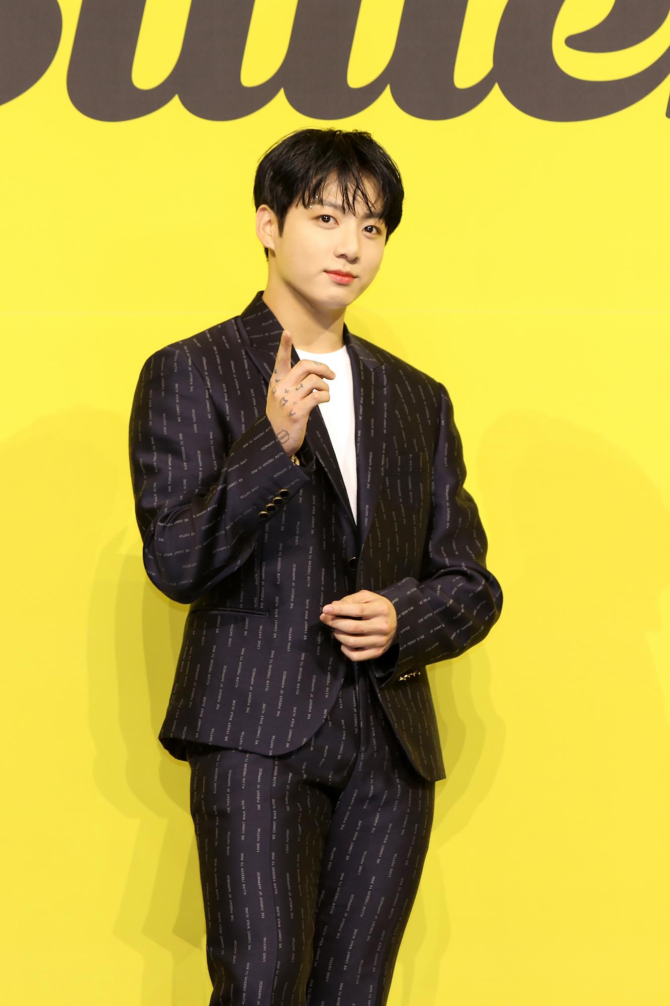 BTS butter Jung Kook オンライン記者会見
