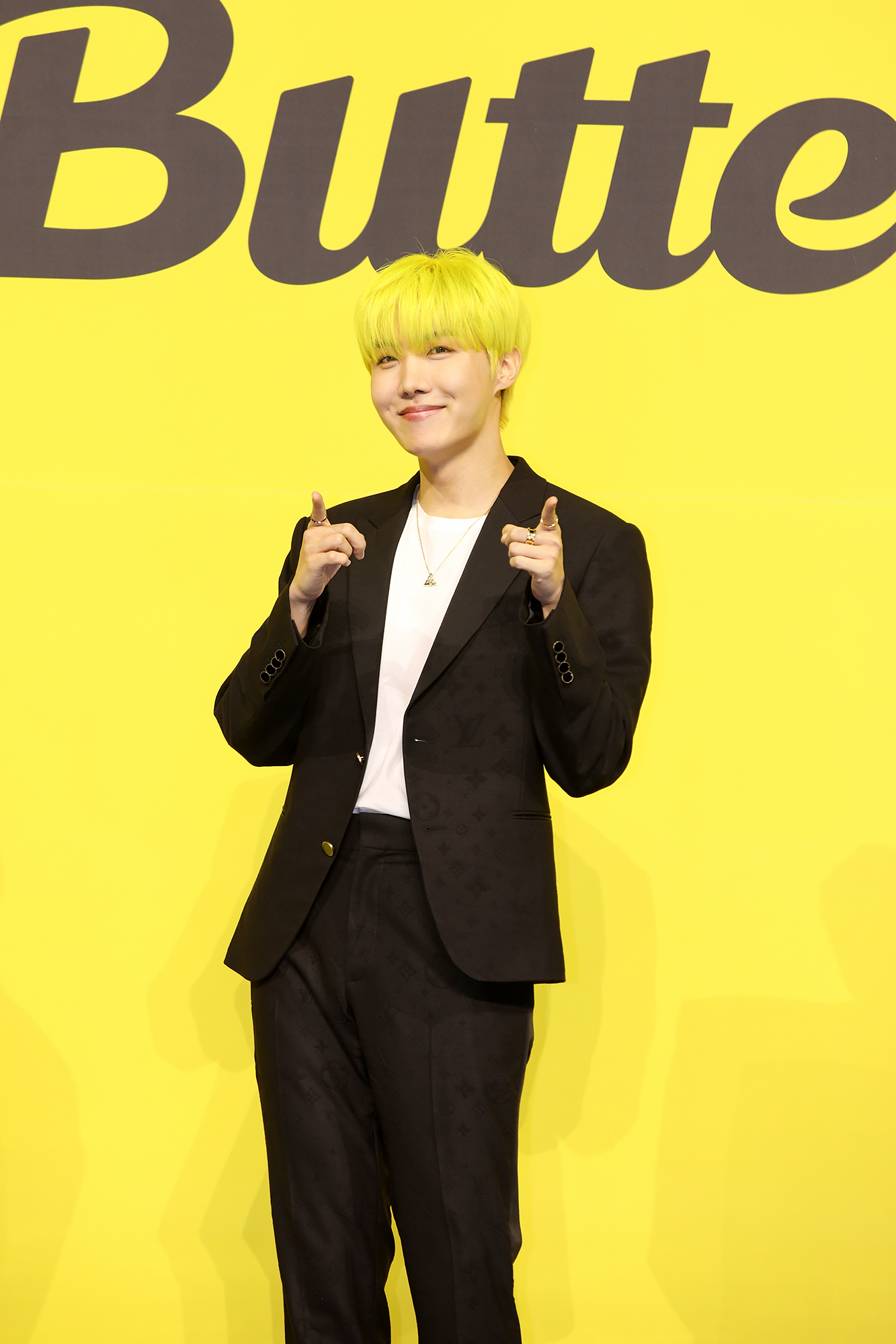 BTS Butter J-HOPE オンライン記者会見