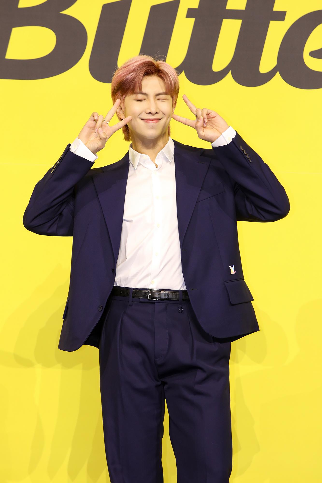BTS Butter RM オンライン記者会見