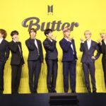 BTS新曲Butter オンライン会見集合写真