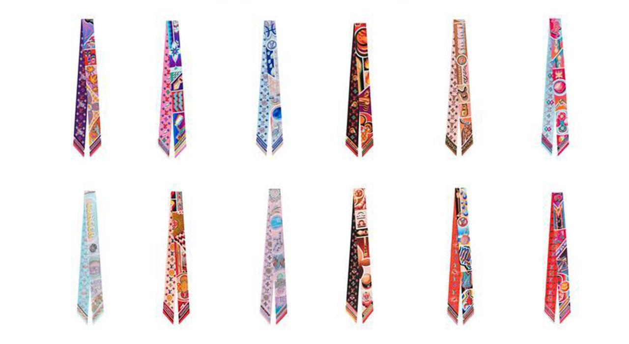 ルイ・ヴィトンの新作スカーフ