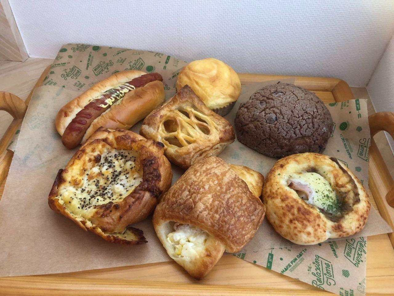 「TABETE」でレスキューしたパン