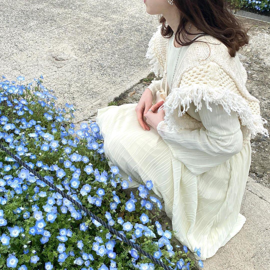 お花と女の子