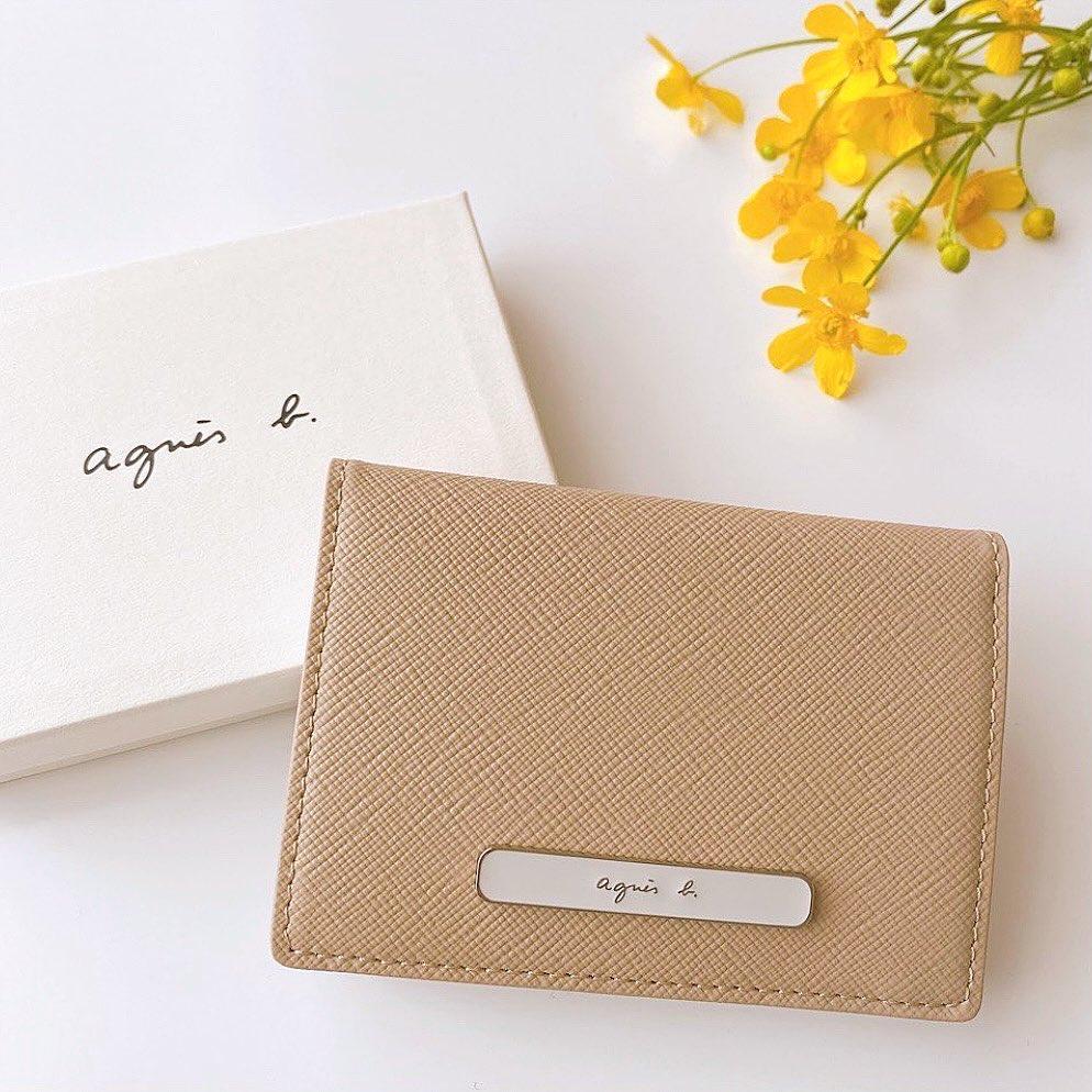 アニエスべーのカードケース