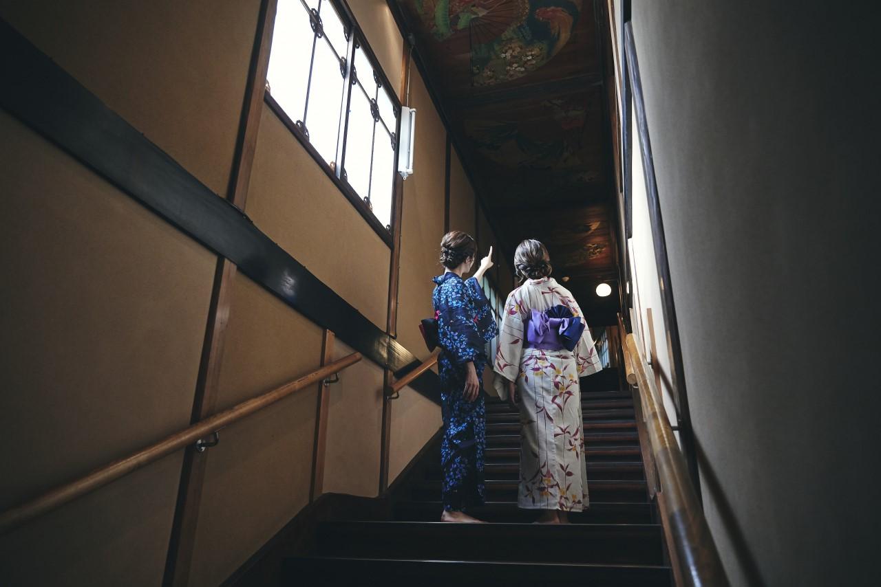 ホテル雅叙園東京「百段階段」での浴衣プランイメージ