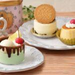 Q-pot CAFE. お取り寄せケーキ3種セット