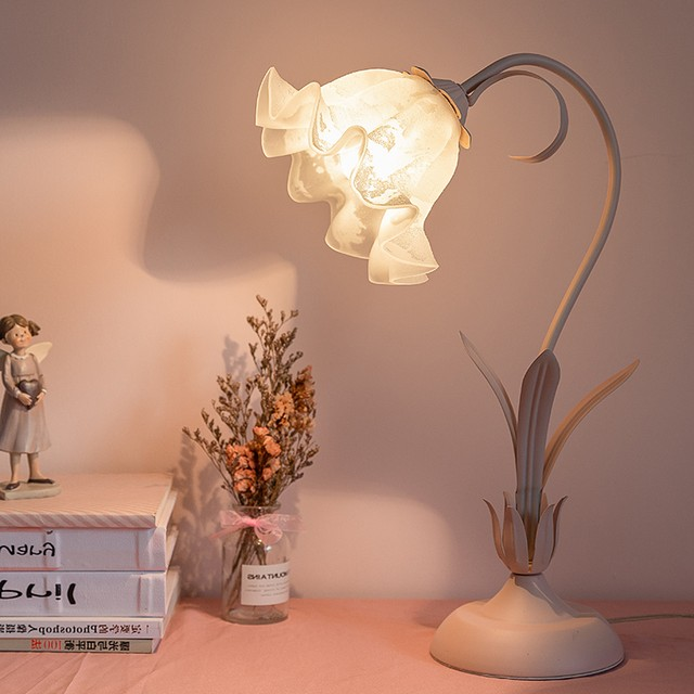 お花のランプ