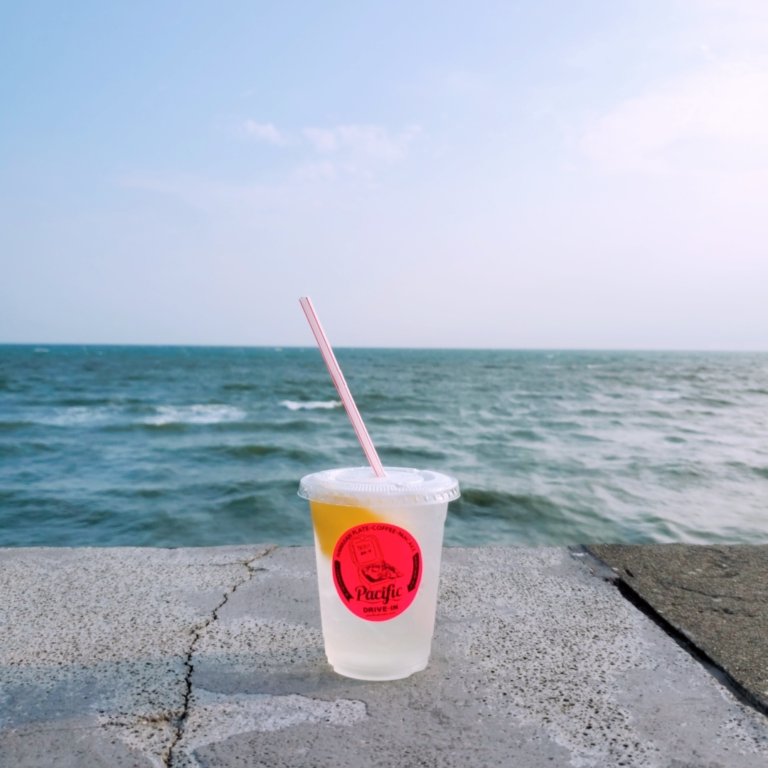 Pacific Drive in 七里ヶ浜