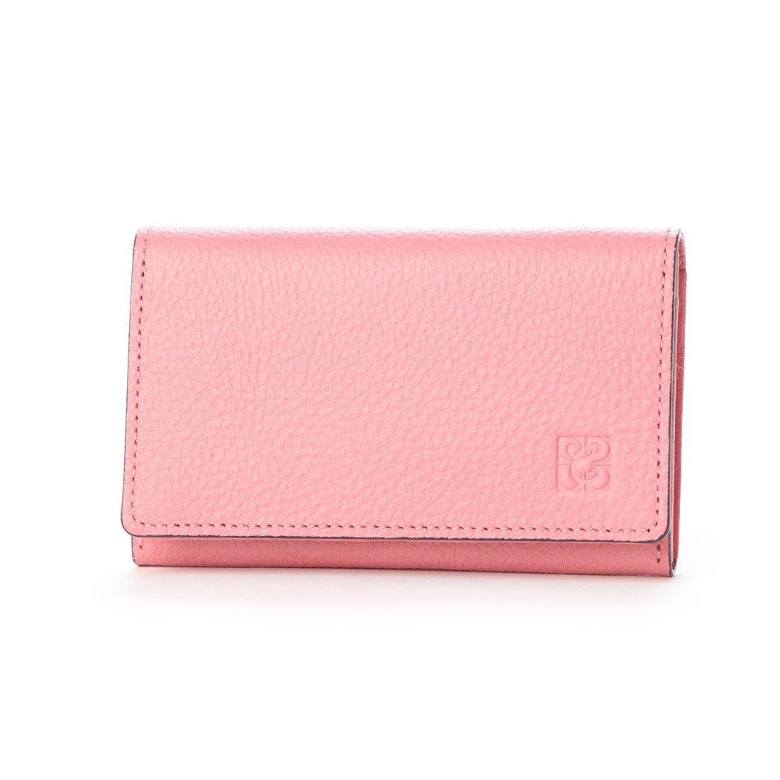 キプリス ウィメンズ 日本製ササマチ名刺入れ ピンク