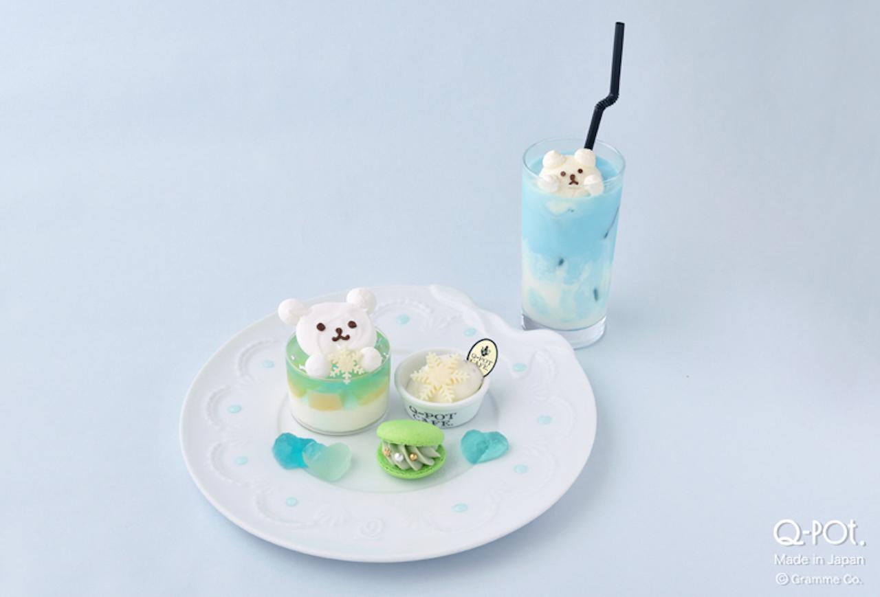 Q-pot CAFE.期間限定シロクマメニュー