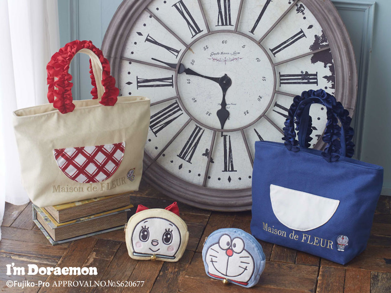 「アイムドラえもん」コレクションのバッグ