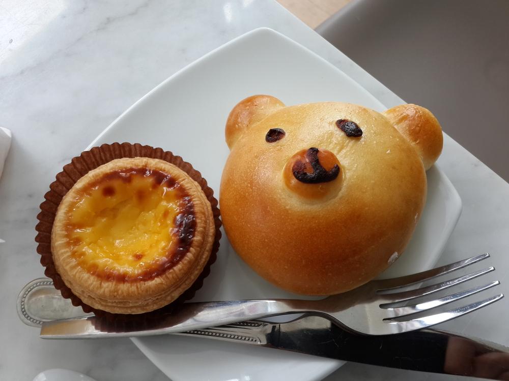 パンとタルト