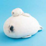 フェリシモ「赤ちゃんゴマフアザラシもっちりクッション」