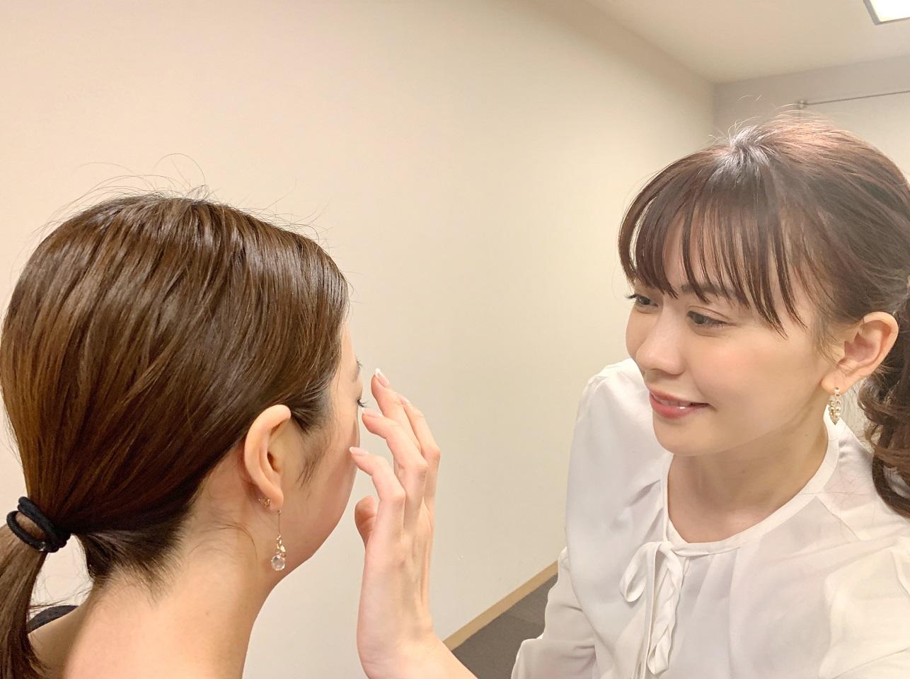 垣内綾子さん目元診断