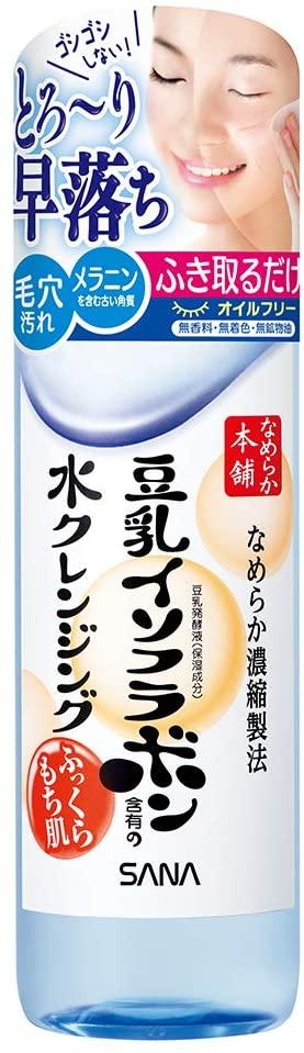 『なめらか本舗』の「豆乳イソフラボン 水クレンジング」