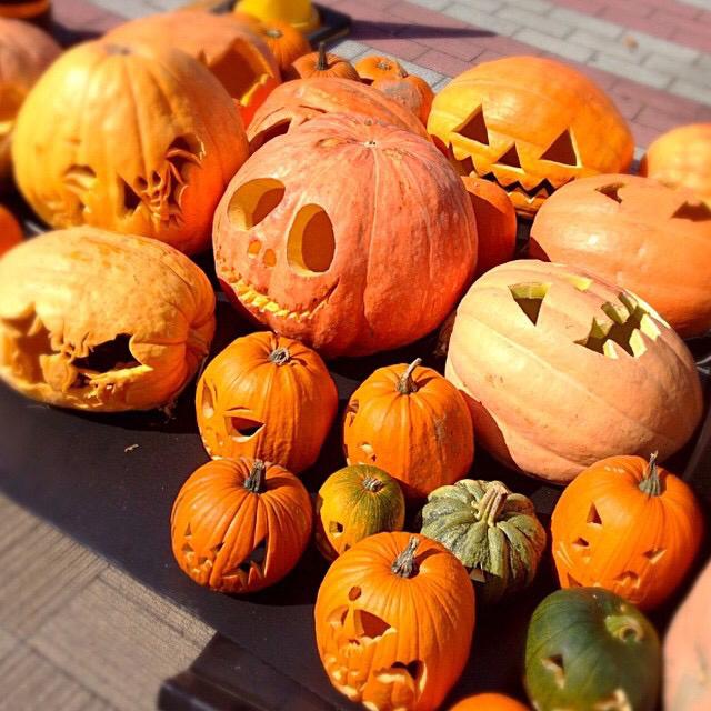 かぼちゃハロウィン ジャックオランタン