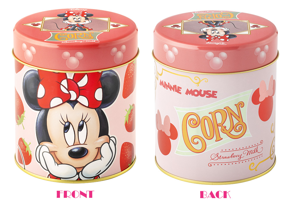 ミニーマウス/コーン いちごミルク味