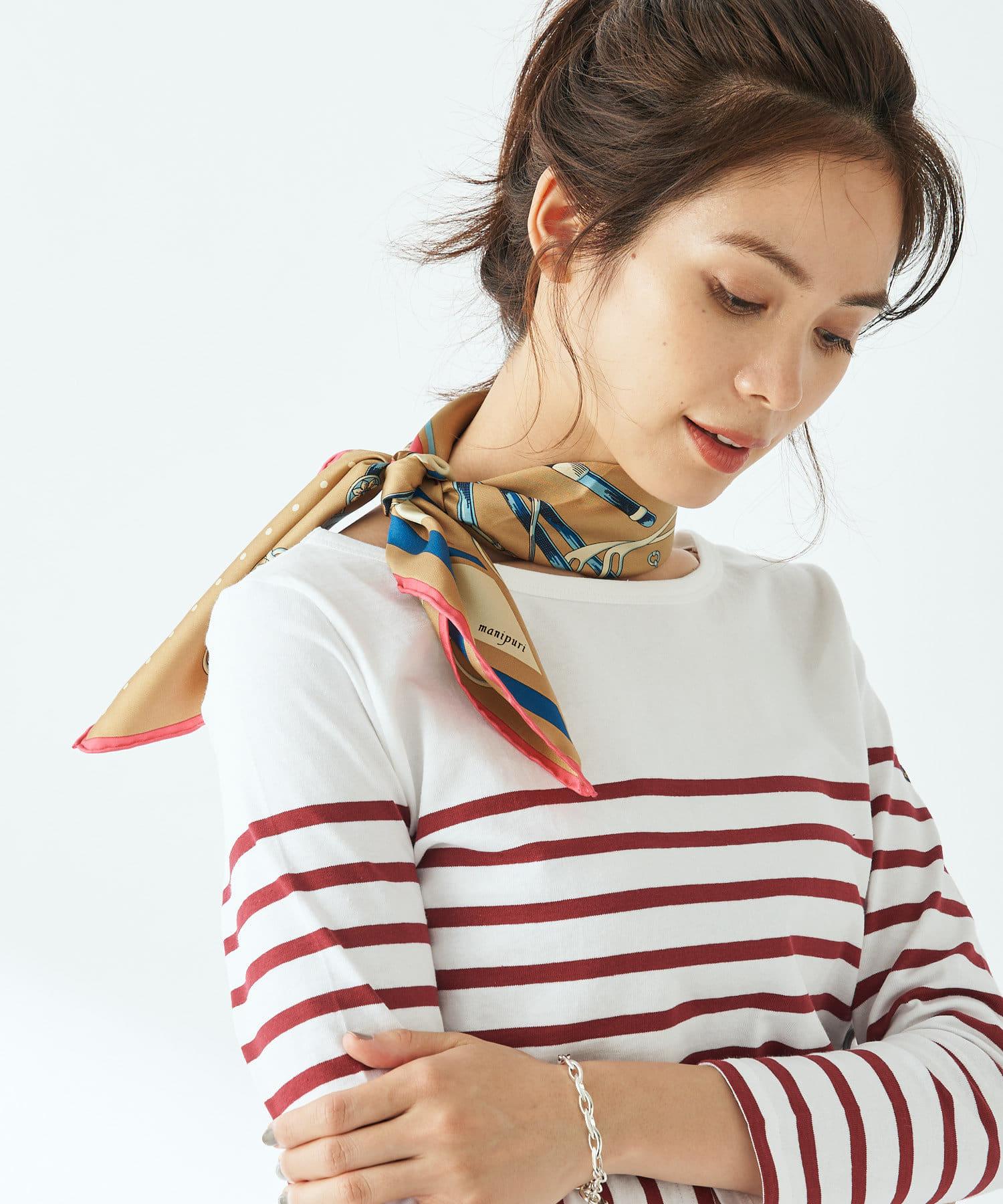 秋っぽスカーフ