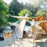 キャンプの楽しみ方服装イメージ