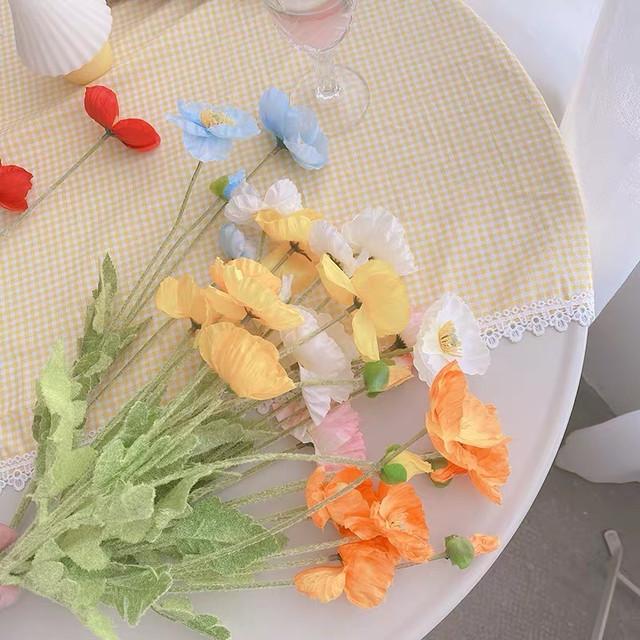 5色の造花