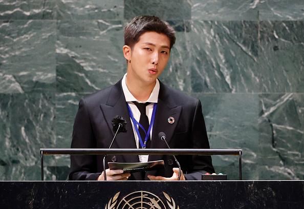 RM 国連スピーチ