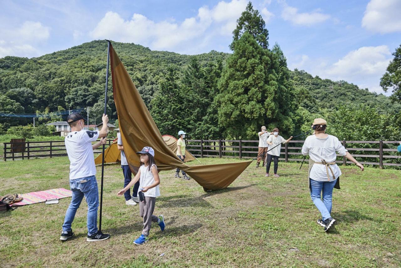 キャンプ民泊NONIWA