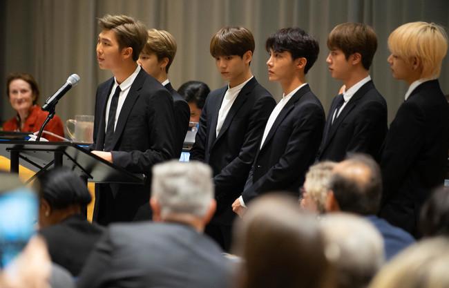 BTS 国連 2018