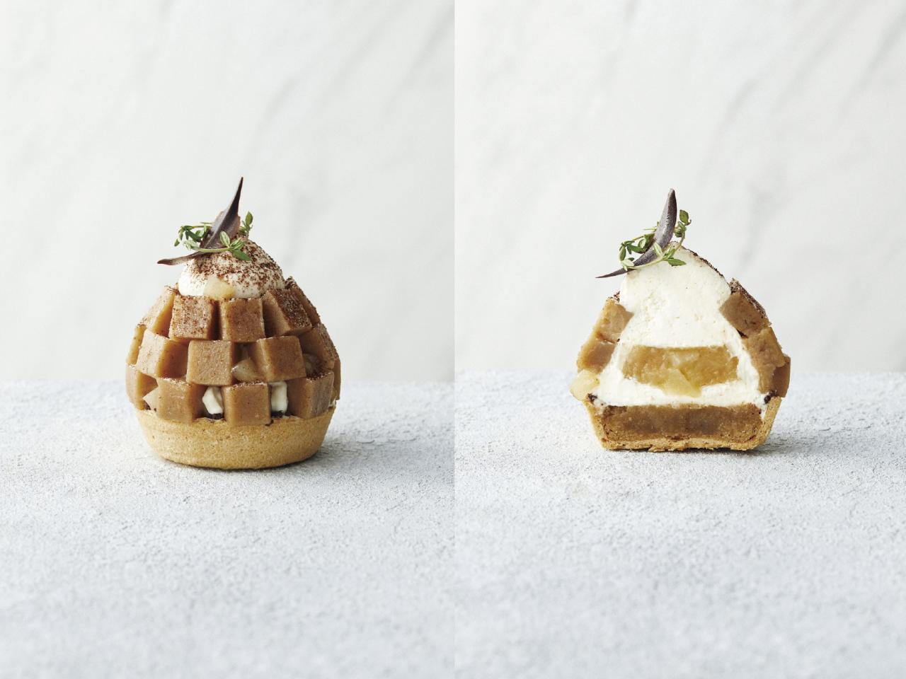 和栗と洋梨のモンブラン