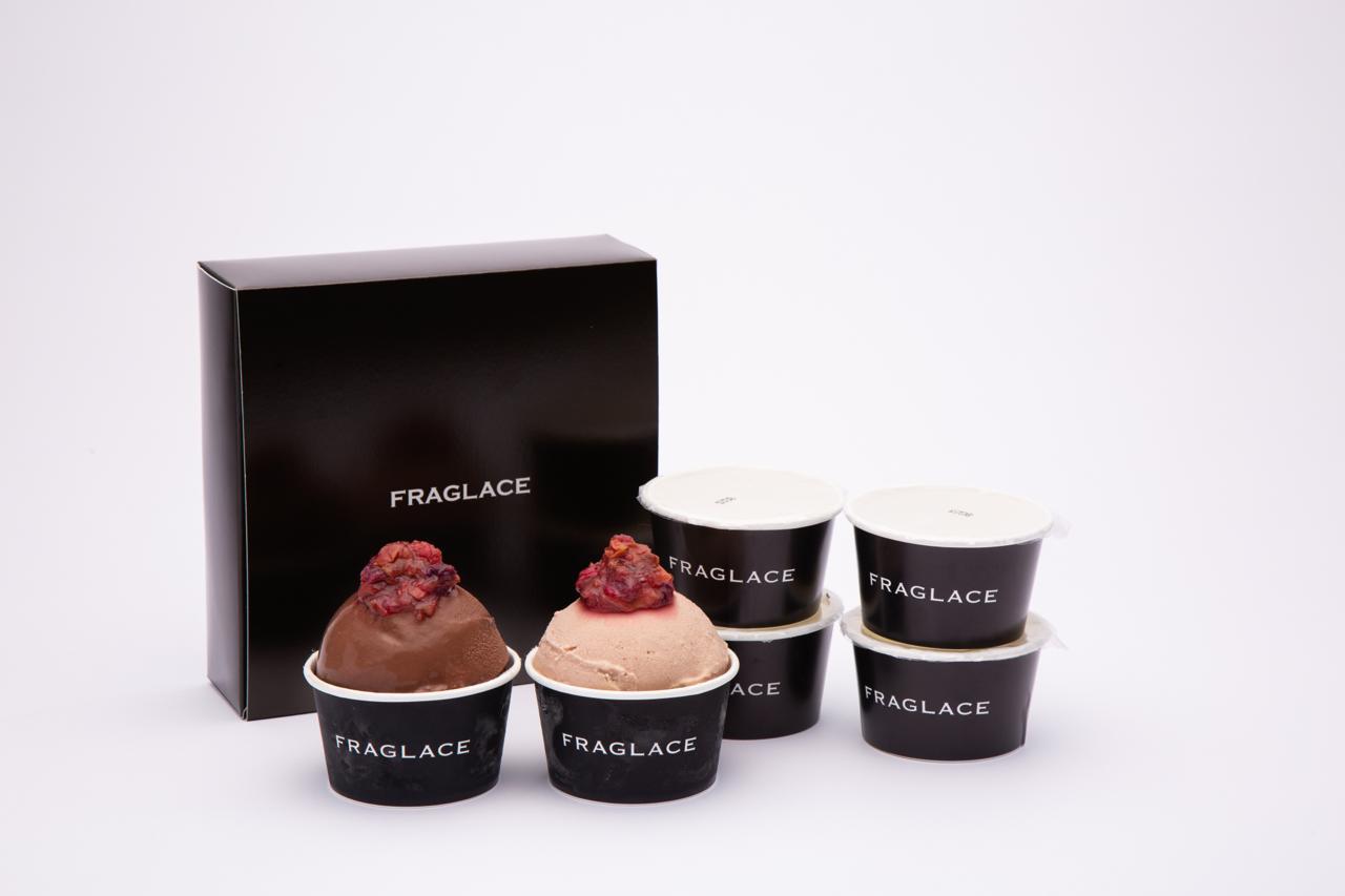 バラのアイスクリーム フレグラス
