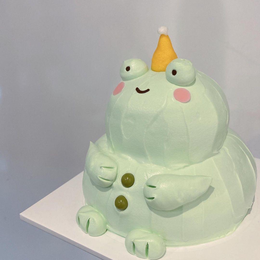 太っちょどうぶつケーキ センイルケーキ