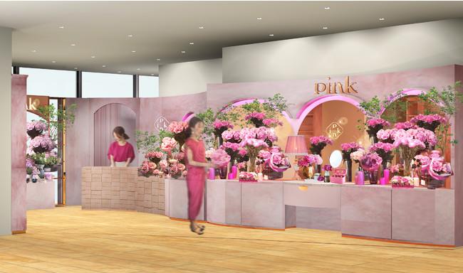 青山フラワーマーケット Pink