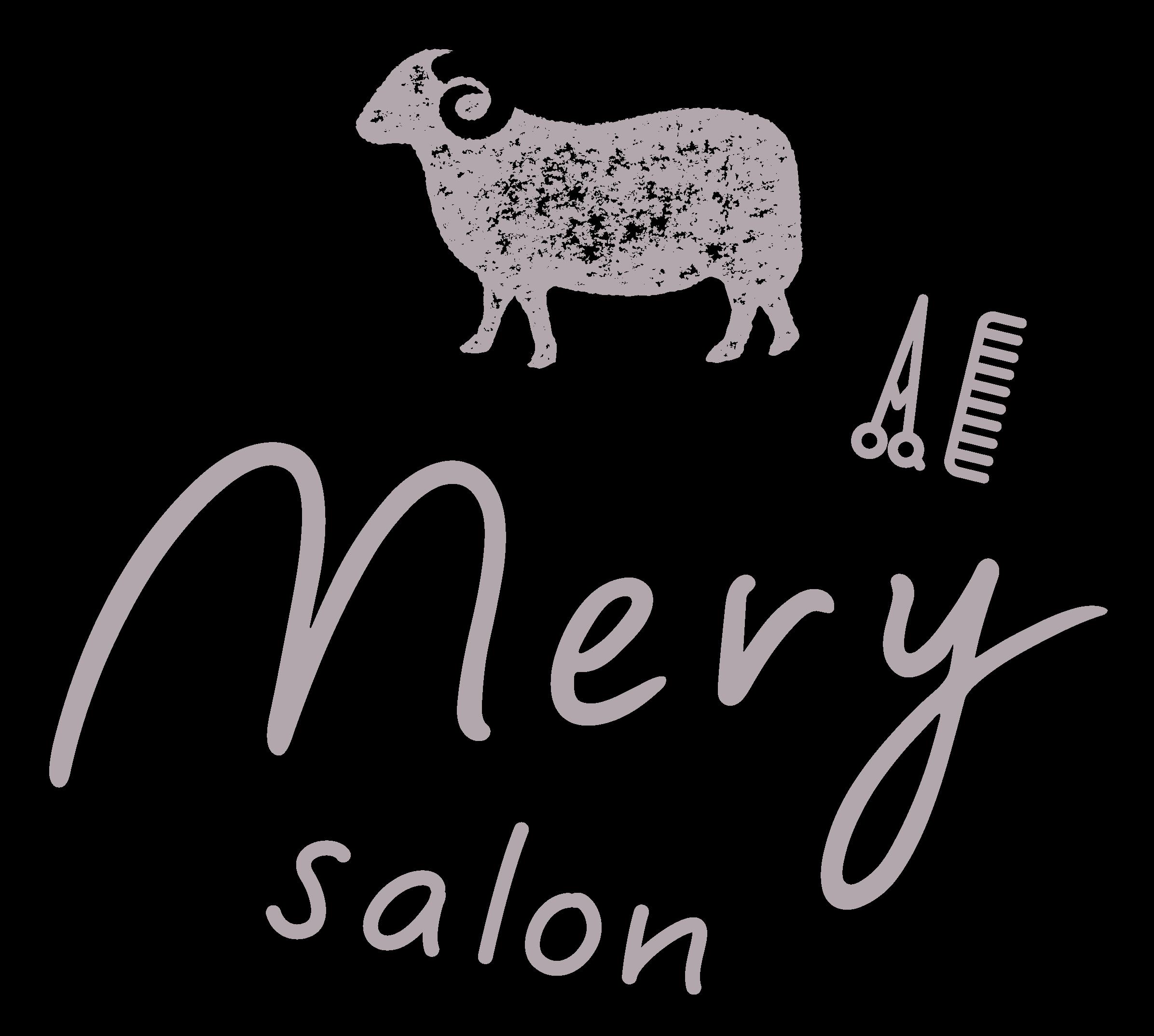 mery salonロゴ